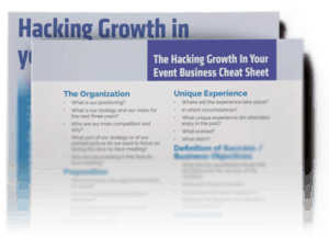 Hacking Growth Event Business Formula