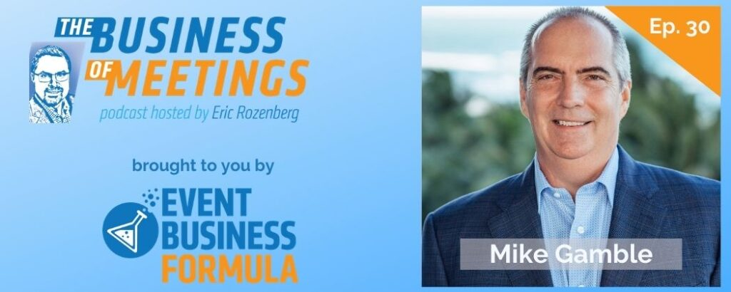 Mike Gamble | Business Of Meetings Podcast