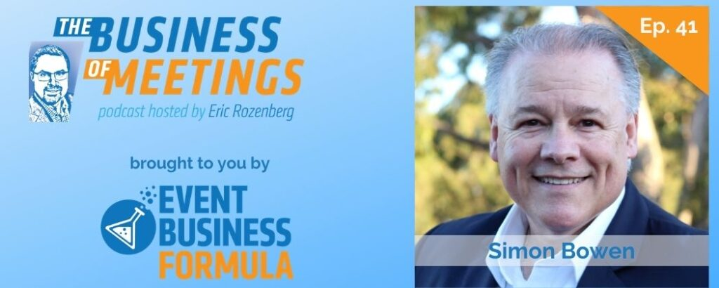Simon Bowen | Business of Meetings Podcast
