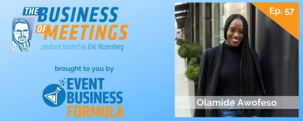 Ola Awofeso | The Business of Meetings Podcast
