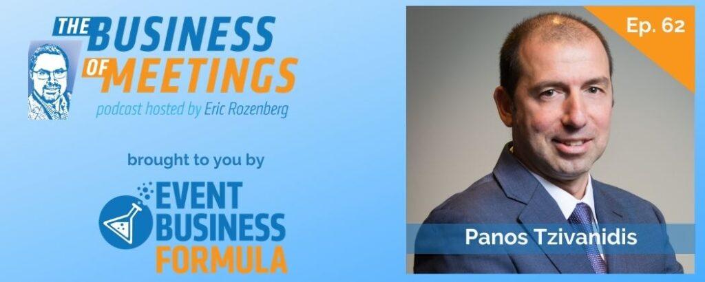 Panos Tzivanidis | The Business of Meetings Podcast